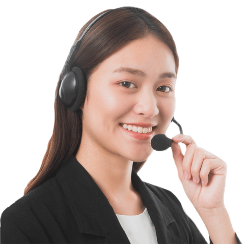 Customer Support lady