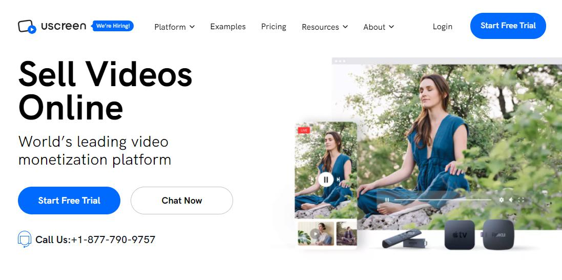 Sell Videos Online